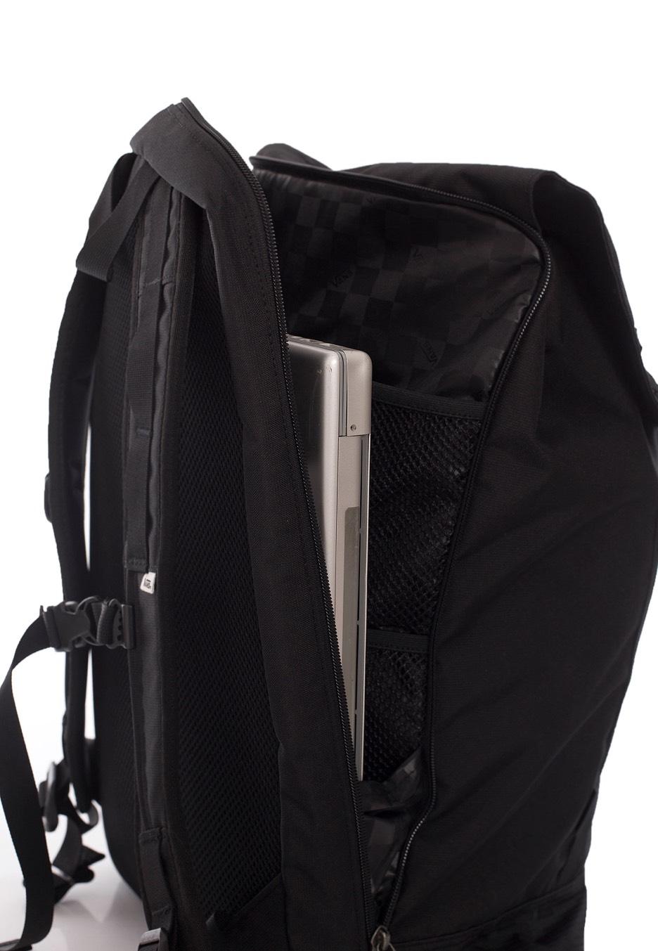 vans backpack black