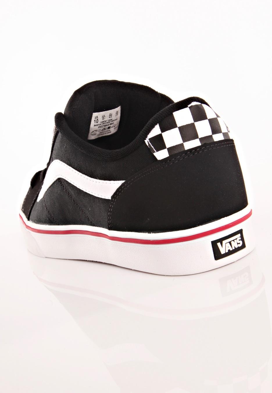 f3f66f615b Vans - Transistor Black White - Shoes - Impericon.com UK