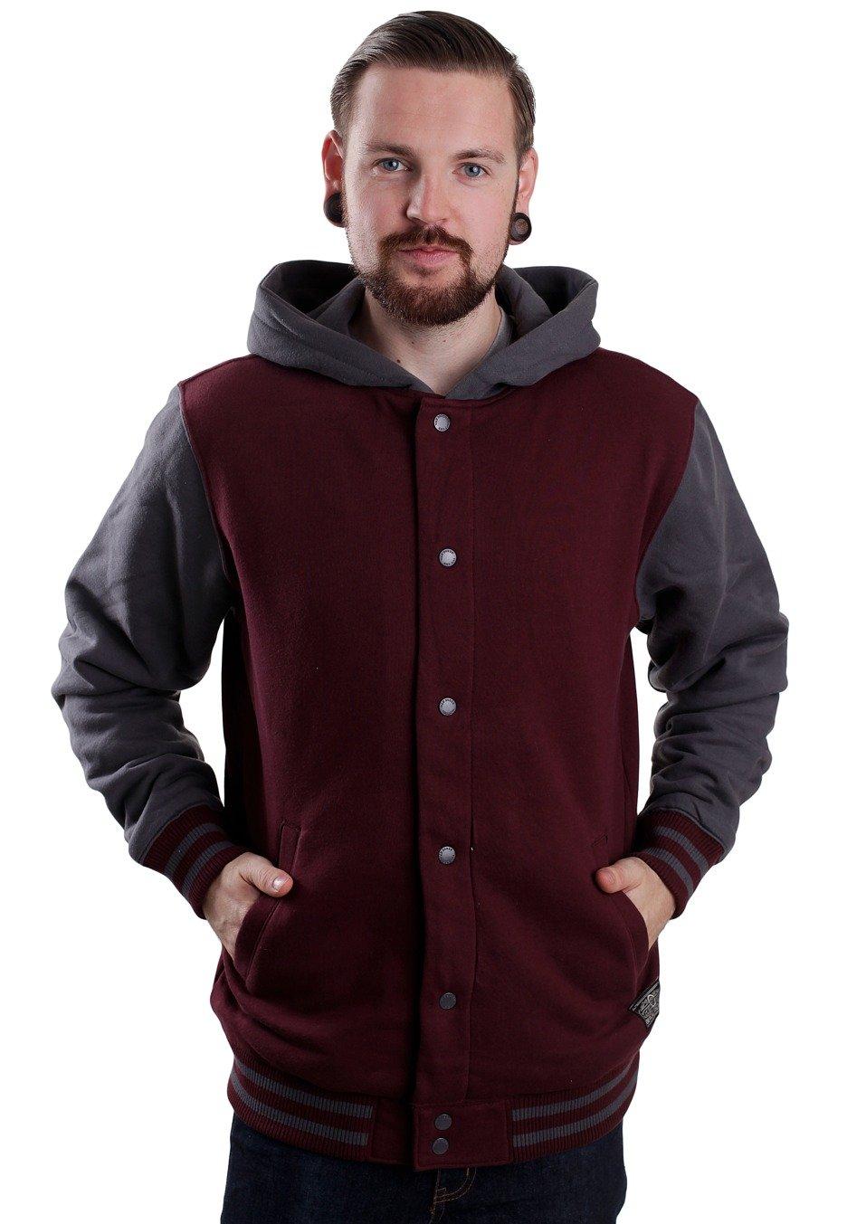 4e7f0b22cd Vans - University II Sherpa Port Royale Gravel - Hooded College Jacket -  Impericon.com UK