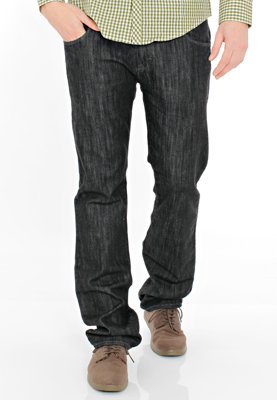 black vans and jeans