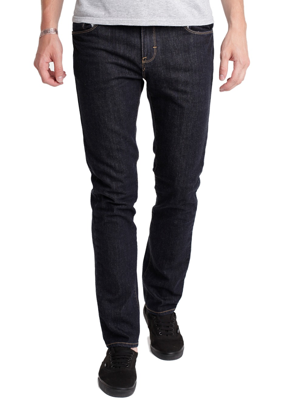 Vans V76 Skinny Dark Indigo Jeans Impericon Com De