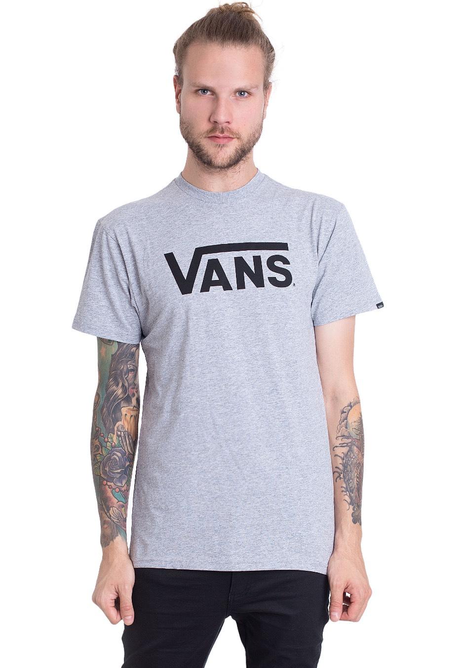 6254c6ca0 Vans - Vans Classic Athletic Heather/Black - T-Shirt - Impericon.com AU