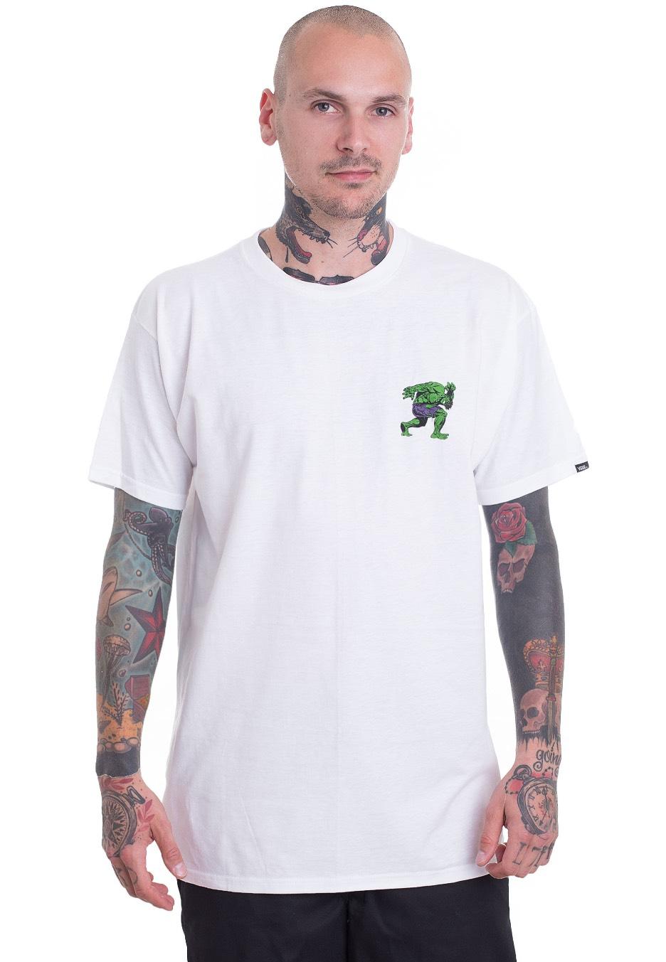 Vans x Marvel - Vans x Marvel Hulk White - T-Shirt