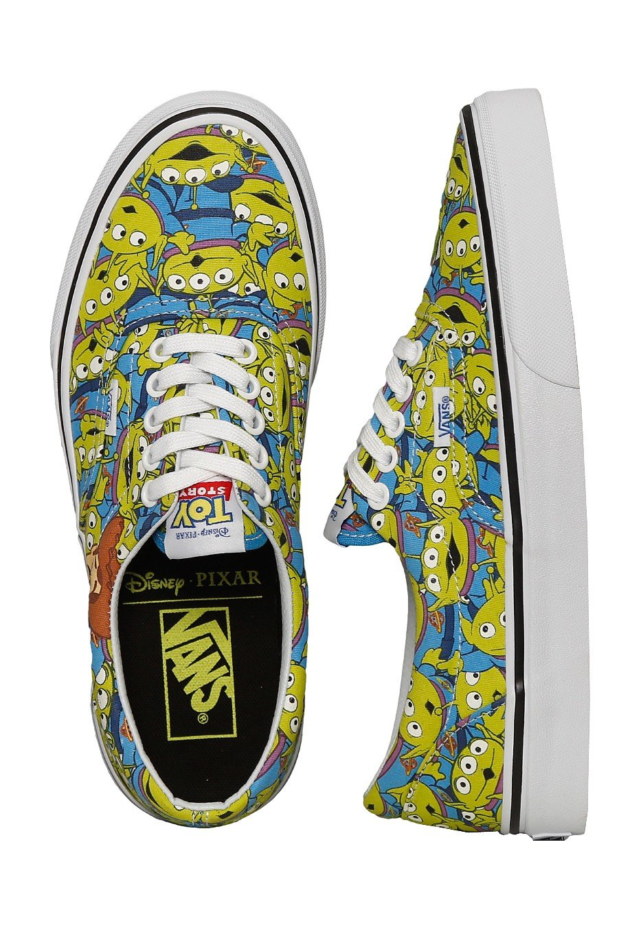 vans slip on toy story