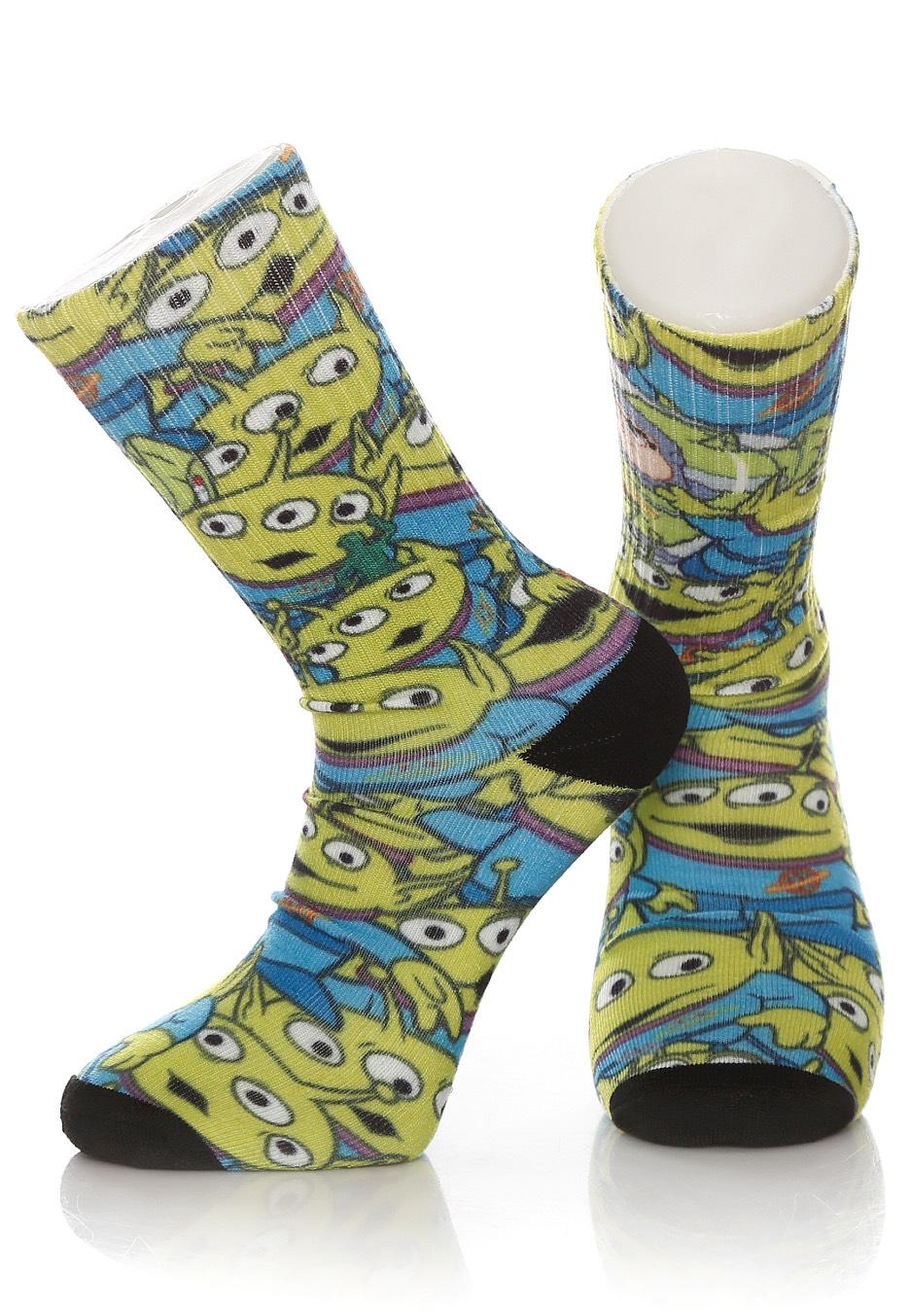 Vans X Toy Story - Vans C Aliens - Socks - Impericon.com UK e8ad8dd3d