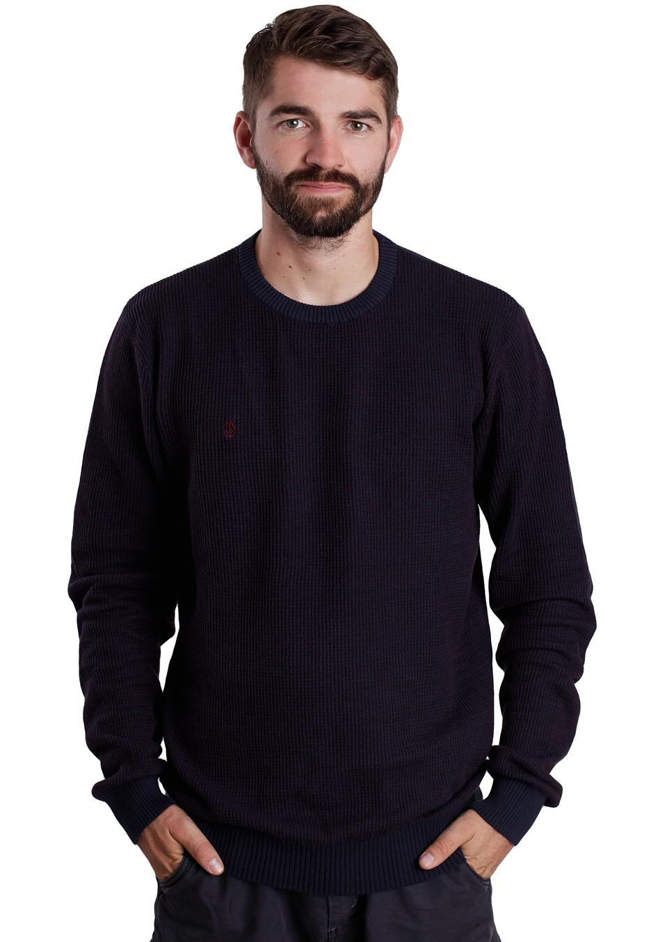 Volcom - Brouhaha Dark Navy - Pullover - Streetwear Shop ...