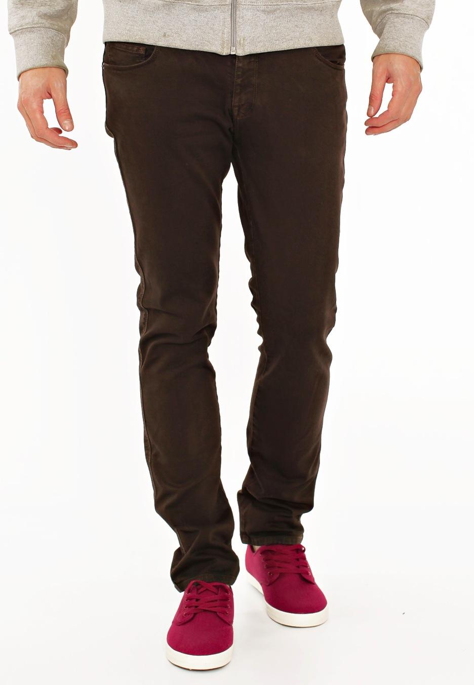 Volcom - Chili Chocker Drip Brown - Jeans - Streetwear Shop ...