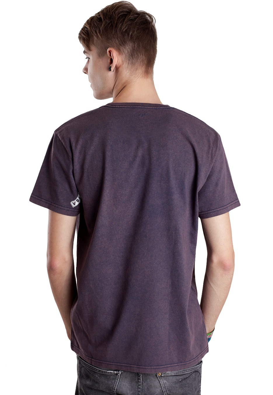 e9dfaf4609 Volcom - Club Nowhere Vintage Navy - T-Shirt - Boutique streetwear ...