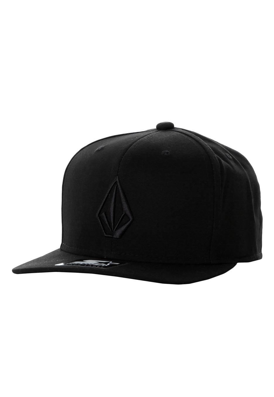 Volcom - Full Stone X Starter Tinted Black Snapback - Cap - Streetwear Shop  - Impericon.com UK 0f2ae37ee0e