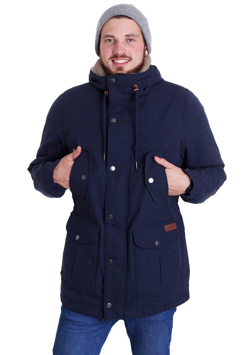 auf Füßen Aufnahmen von Für Original auswählen attraktiv und langlebig Volcom - Starget Parka Update Navy - Jacket