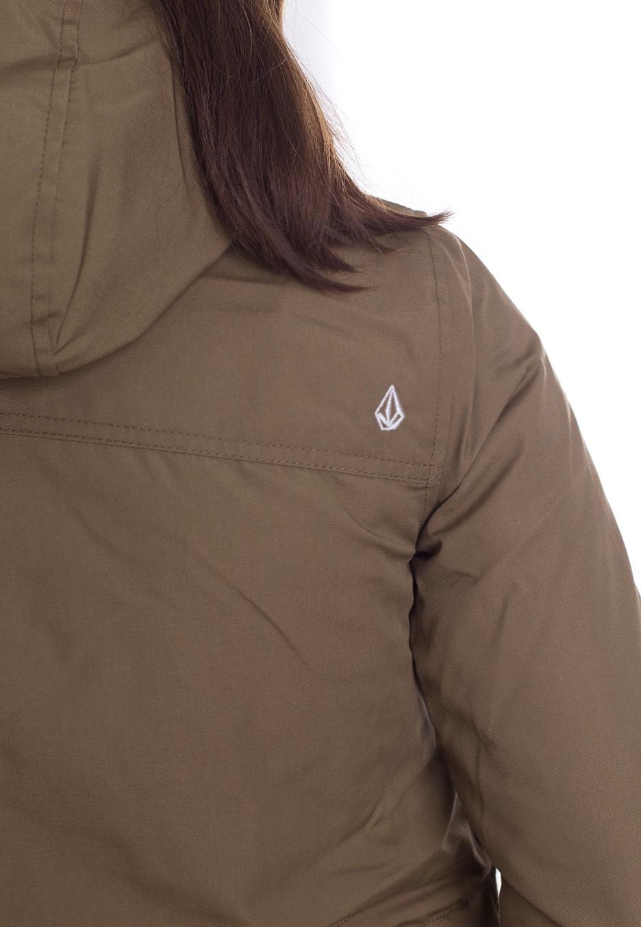 Venson Boutique Fr Volcom Streetwear Veste Olive apv7q0