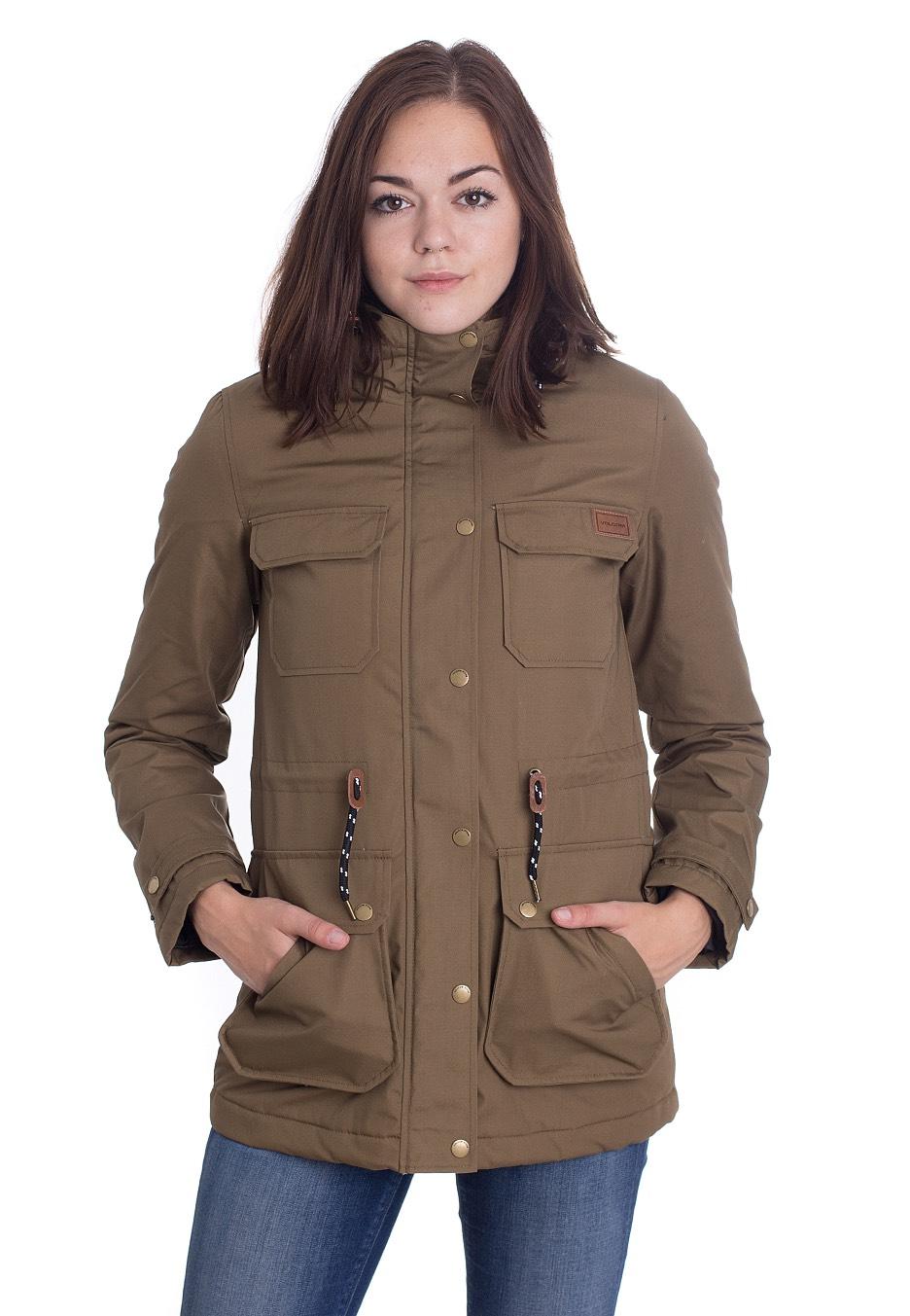 Jacken für Frauen - Volcom Venson Olive Jacken  - Onlineshop IMPERICON