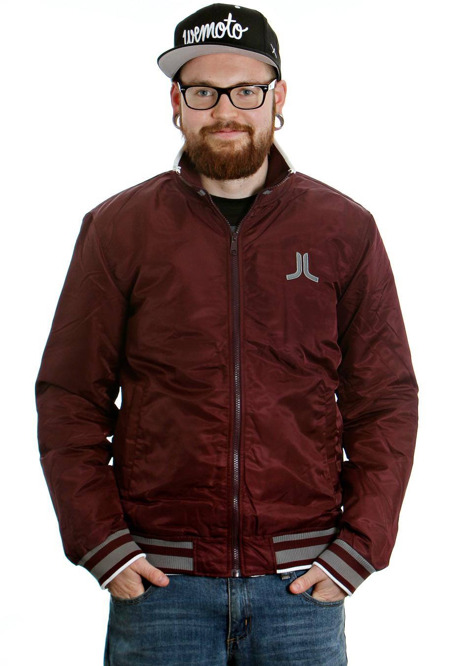e79e73d67ffb9 Wesc - Wille Red Port - College Jacket - Streetwear Shop - Impericon.com AU