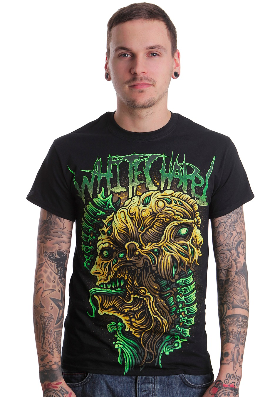 Whitechapel - Anatomy - T-Shirt - Impericon.com Worldwide