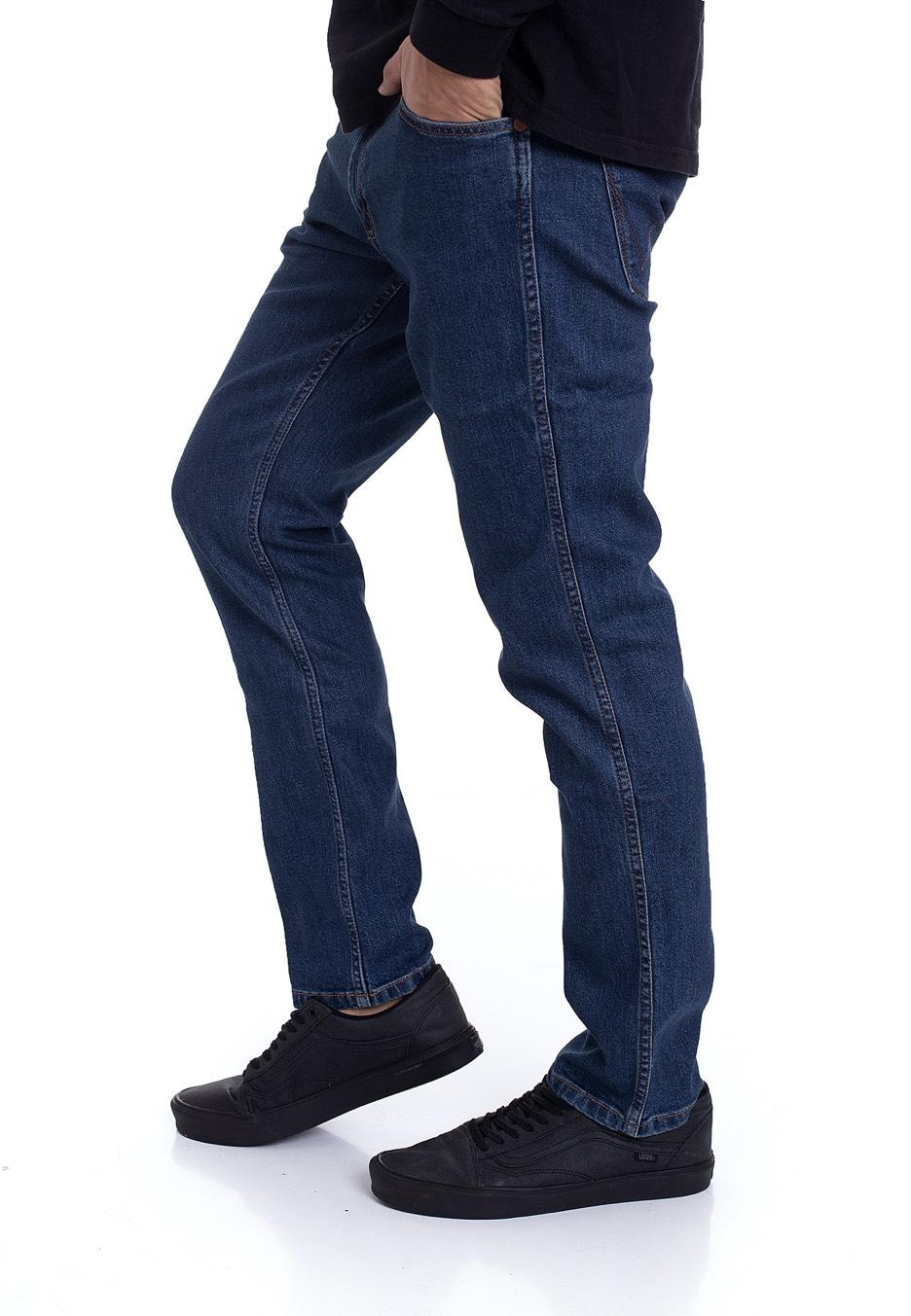 Wrangler Greensboro Regular Fit Homme Coton Pantalon-Stone