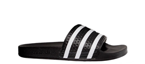 6be3ee38a4f43f Adidas - Adilette New Bold Core Black White Core Black - Girl ...