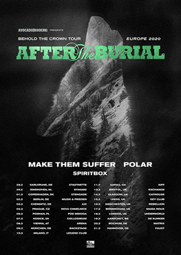 After The Burial Tour Tickets