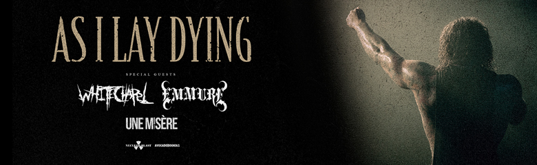 As I Lay Dying Tour Tickets