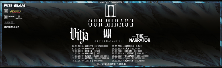 Our Mirage Tour Tickets