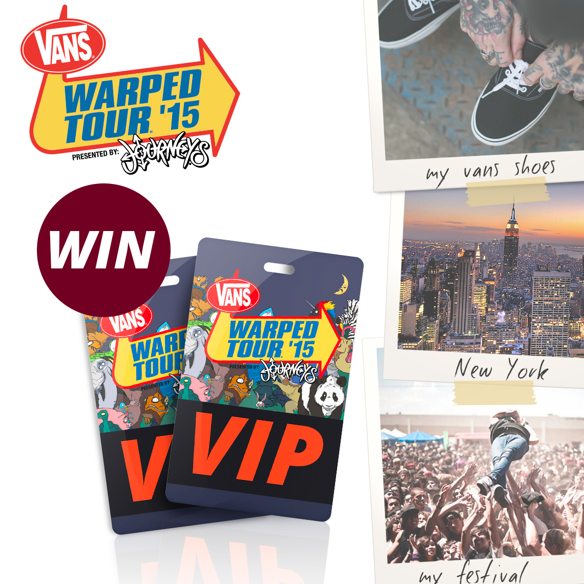 Win A Trip To The Vans Warped Tour In New York Impericon Worldwide