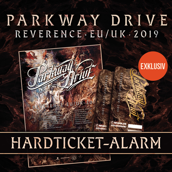 Parkway Drive Tour 2018 - Banner