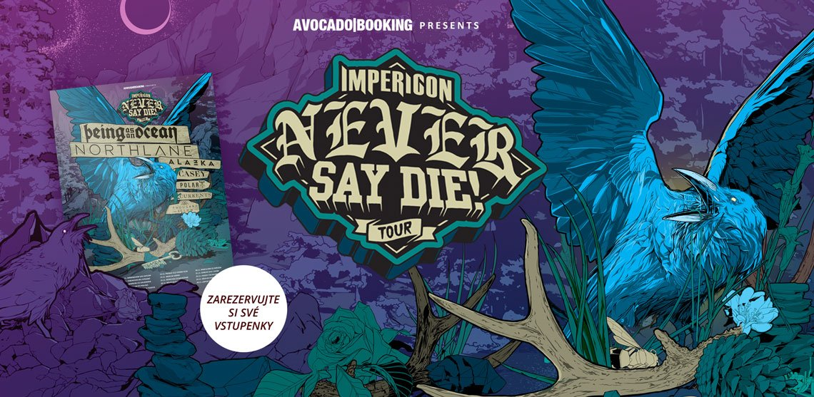 Never Say Die! Tour 2018