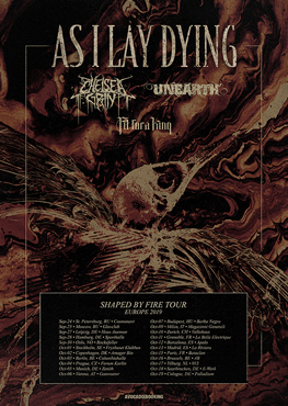 As I Lay Dying Tickets