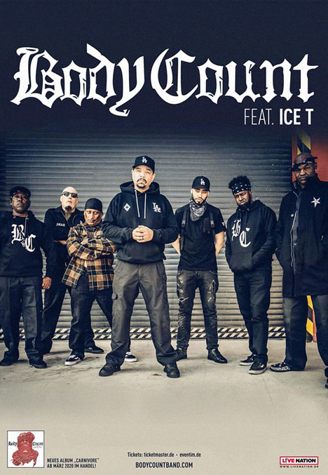 Body Count Tour Tickets