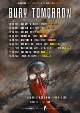 Bury Tomorrow Tour Tickets
