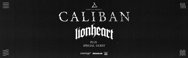 Caliban Tickets