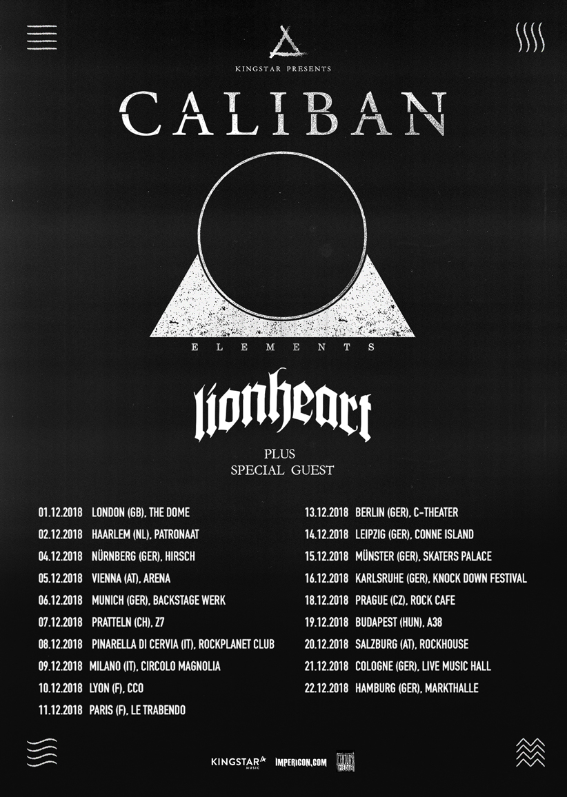 Caliban Tickets