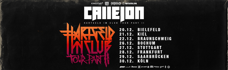 Callejon Tickets