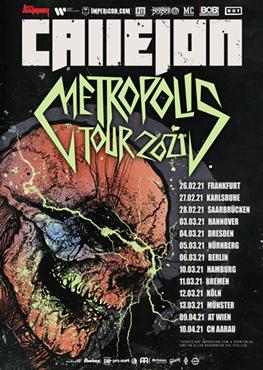 Callejon Tour Tickets