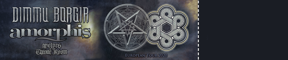 Dimmu Borgir & Amorphis Tickets