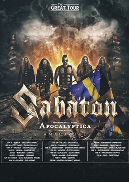 Sabaton Tickets