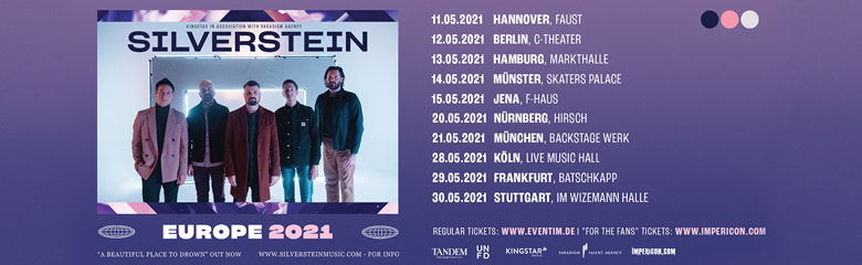 Silverstein Tour Tickets