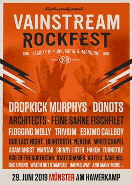 Vainstream Rockfest - Tickets